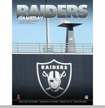 Oakland Raiders October 6th Game Day Program vs. San Diego Chargers