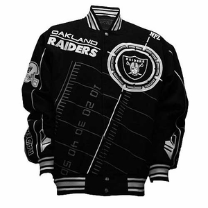 Oakland Raiders On Point Youth Jacket - Click to enlarge