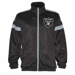 Oakland Raiders Opposite Field Track Jacket