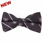 Oakland Raiders Oxford Bowtie