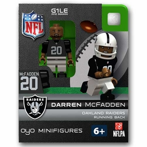 Oakland Raiders Oyo Darren McFadden Figure - Click to enlarge