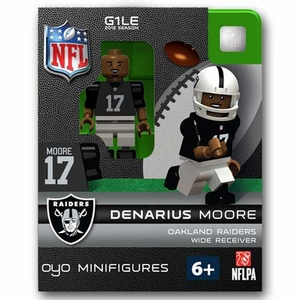 Oakland Raiders Oyo Denarius Moore Figure - Click to enlarge