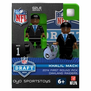 Oakland Raiders Oyo Khalil Mack Draft Figure - Click to enlarge