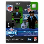 Oakland Raiders Oyo Khalil Mack Draft Figure