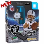 Oakland Raiders Oyo Michael Crabtree Figure