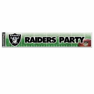 Oakland Raiders Party Banner - Click to enlarge