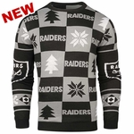 Oakland Raiders Patch 16 Ugly Sweater