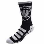 Oakland Raiders Patches Sock