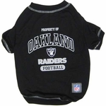 Oakland Raiders Pet Property Of Tee