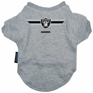 Oakland Raiders Pet T-Shirt - Click to enlarge