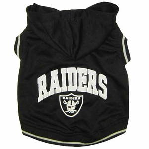 Oakland Raiders Pets Hoodie Tee - Click to enlarge