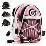 Oakland Raiders Pink Mini Daypack