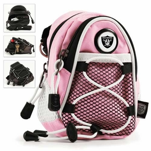 Oakland Raiders Pink Mini Daypack - Click to enlarge