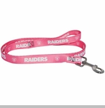 Oakland Raiders Pink Web Lead