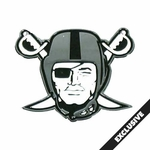 Oakland Raiders Pirate Logo Lapel Pin