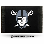 Oakland Raiders Pirate Logo Nylon Wallet