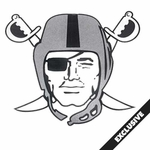 Oakland Raiders Pirate Logo Pennant