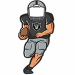 Oakland Raiders Player Bottle Opener Magnet