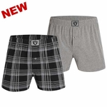 Oakland Raiders Playoff Boxer Two Pack