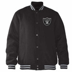 Oakland Raiders Playoff Wool Blend Jacket