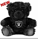 Oakland Raiders Plush Black Bear