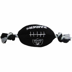 Oakland Raiders Plush Football Robe Toy - Click to enlarge