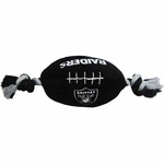 Oakland Raiders Plush Football Robe Toy