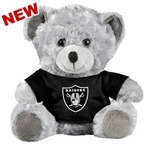 Oakland Raiders Plush Grey Bear