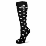 Oakland Raiders Polka Dot Soft Socks