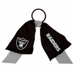 Oakland Raiders Ponytail Holder