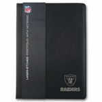 Oakland Raiders Portfolio with Notebook