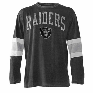Oakland Raiders Post Up Novelty Tee - Click to enlarge