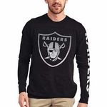 Oakland Raiders Pregame Long Sleeve Tee