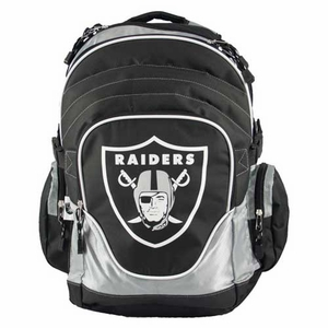 Oakland Raiders Premium Backpack - Click to enlarge