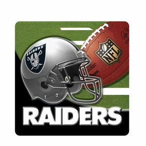 Oakland Raiders Premium Coaster Set - Click to enlarge