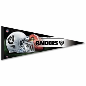 Oakland Raiders Premium Team Pennant - Click to enlarge