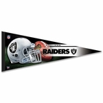 Oakland Raiders Premium Team Pennant