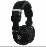 Oakland Raiders Pro DJ Headphones