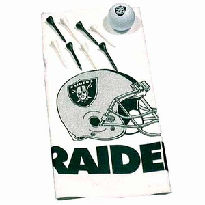 Oakland Raiders Pro Team Golf Pack - Click to enlarge