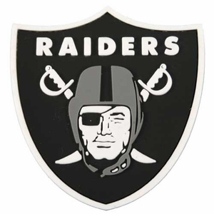 Oakland Raiders PVC Magnet - Click to enlarge