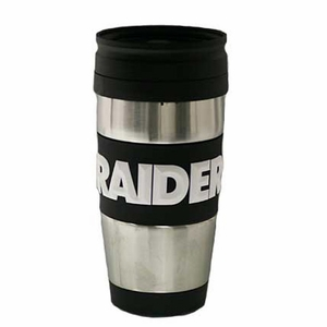 Oakland Raiders PVC Wrap Mug - Click to enlarge