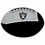 Oakland Raiders Quick Toss 4 Inch Softee Football
