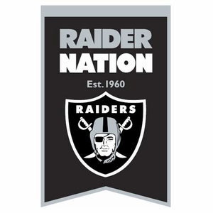 Oakland Raiders Raider Nation Banner - Click to enlarge