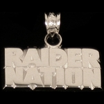 Oakland Raiders Raider Nation Charm