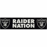 Raiders Raider Nation Eight Foot Banner