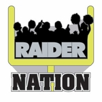 Oakland Raiders Raider Nation Fan Pin