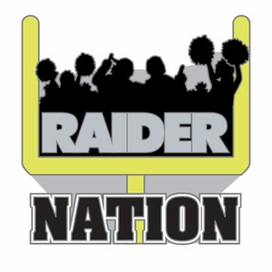 Oakland Raiders Raider Nation Fan Pin - Click to enlarge