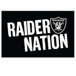 Oakland Raiders Raider Nation Rally Towel