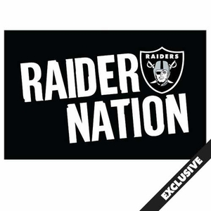Oakland Raiders Raider Nation Rally Towel - Click to enlarge