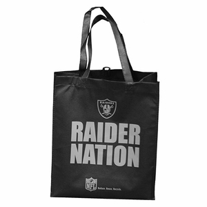Oakland Raiders Raider Nation Reusable Bag - Click to enlarge